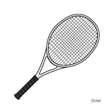 Rocket clipart tennis #6