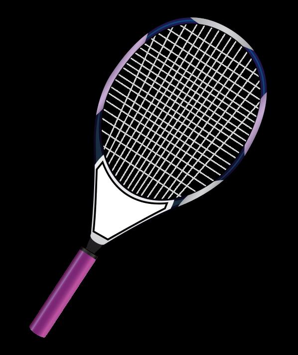 Rocket clipart tennis #5