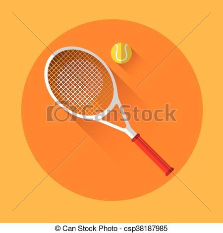 Rocket clipart tennis #3