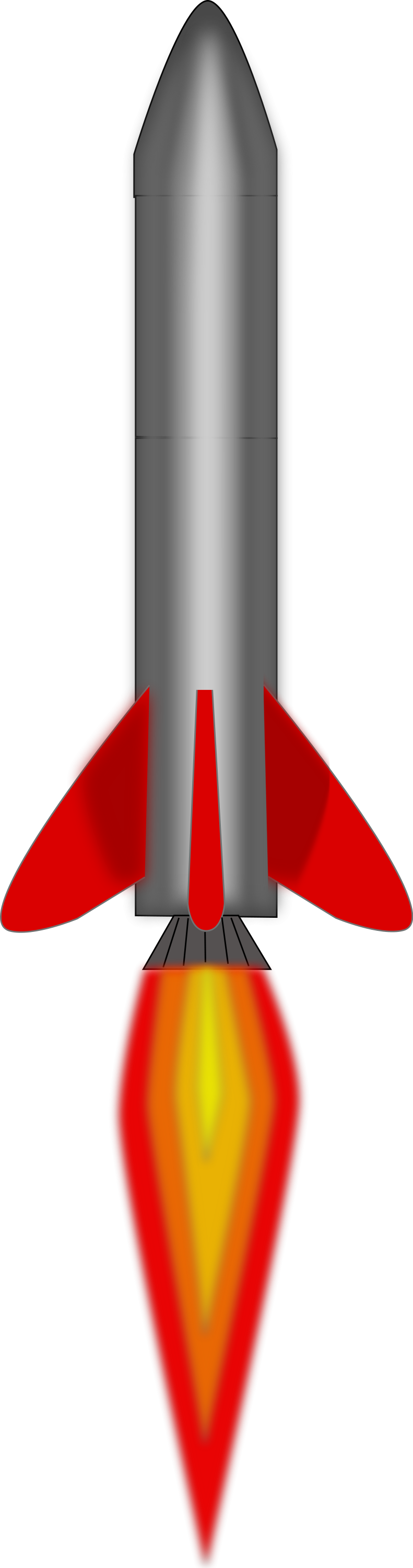 Rocket clipart transparent background #11