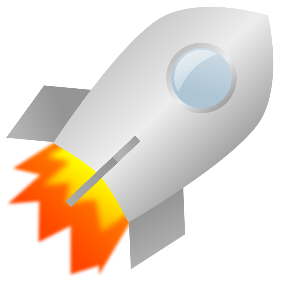 Rocket clipart transparent background #5
