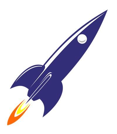 Rocket clipart transparent background #4