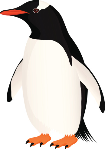 Rockhopper Penguin clipart emperor penguin #5