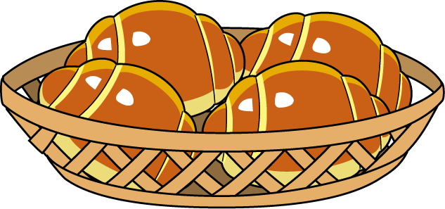 Rolls clipart garlic bread Food Croissant Rolls Food #1291942