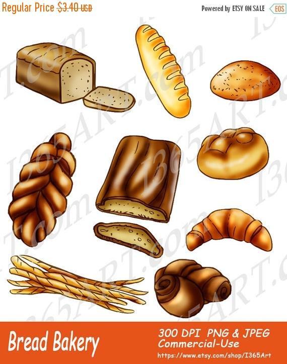 Rolls clipart bakery #2