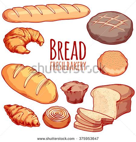 Rolls clipart bread baker #4