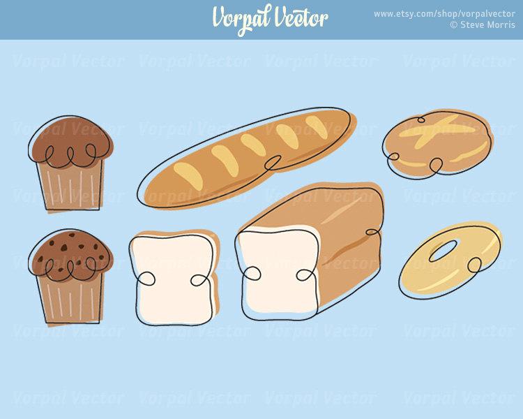 Bread Roll clipart bread baker Bagel Bread Roll Like Bakery