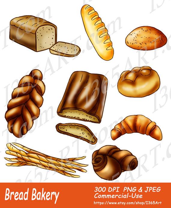 Rolls clipart bread baker #2