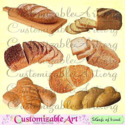 Bread clipart french food Bread Digital Bread Bread Loafs
