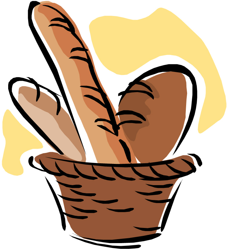 Basket clipart wheat Cliparts Clipart Rolls Zone Grain