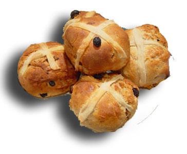 Bread Roll clipart hot cross buns Buns Buns central: Cross Hot