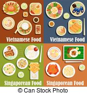 Rolls clipart roti Illustrations and dishes Vietnamese and