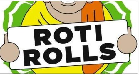 Rolls clipart roti #5