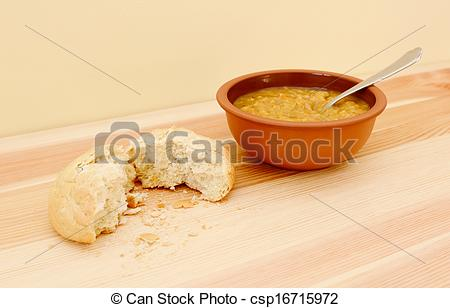 Rolls clipart soup bread #9