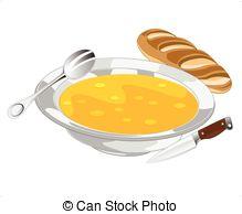 Rolls clipart soup bread #10