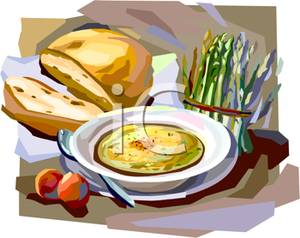 Rolls clipart soup bread #4