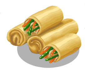 Rolls clipart spring rolls Here by Spring Be