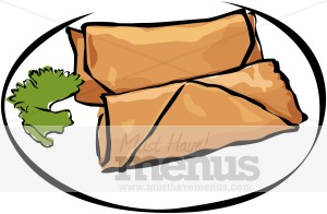 Rolls clipart spring rolls Spring Roll Roll Spring Chinese