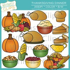 Rolls clipart thanksgiving food #5