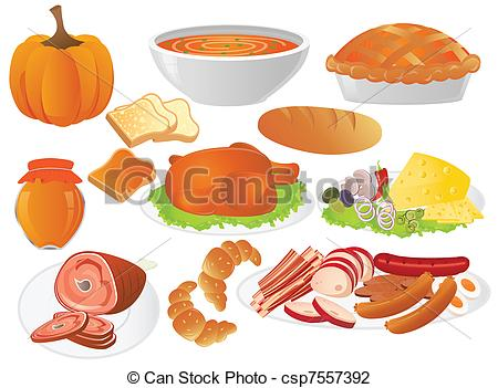 Rolls clipart thanksgiving food #7