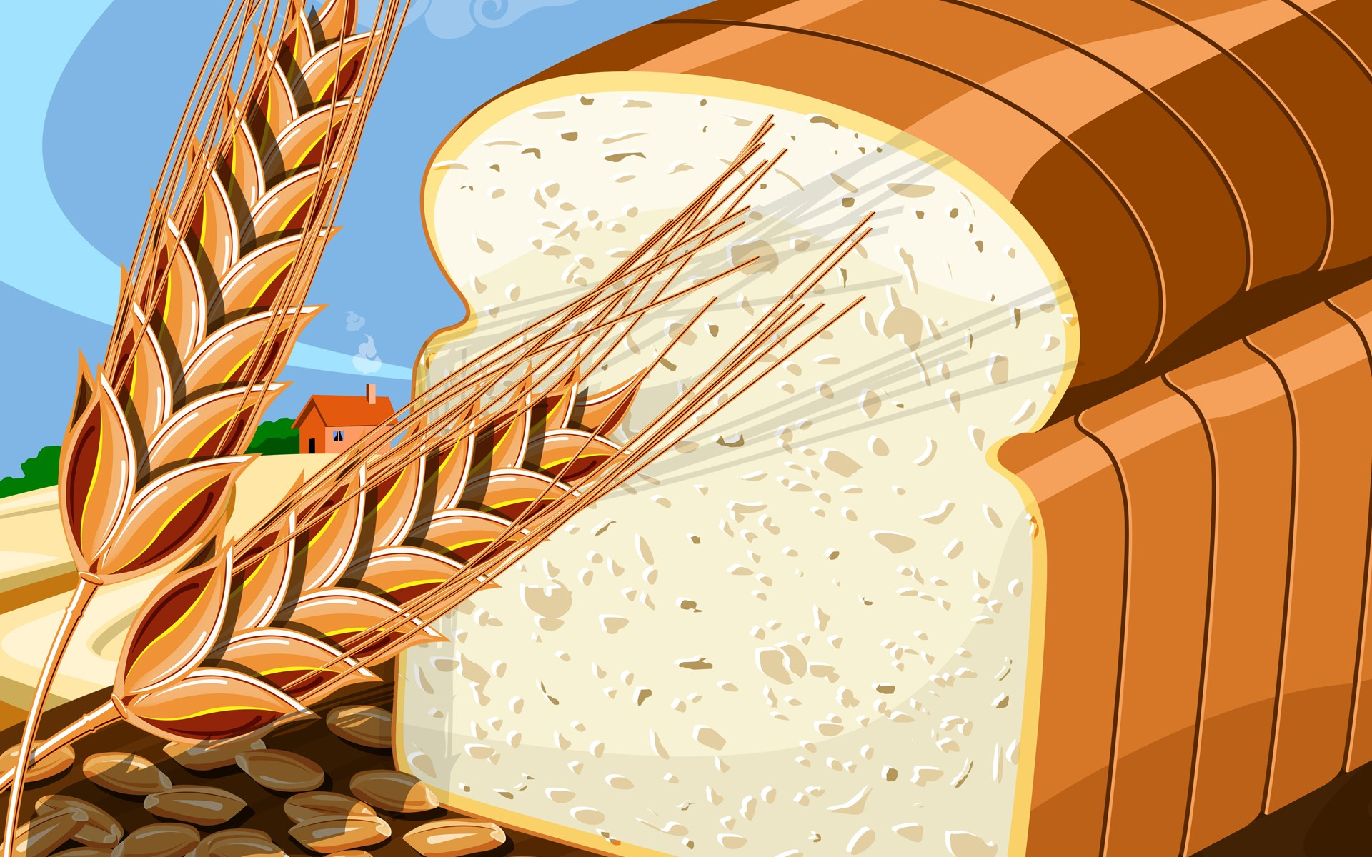 Grain clipart bread Com Clipartion Bread Art Blog