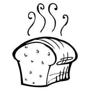 Drawn bread loaf bread Rye Sourdough Star Yeast Sourdough