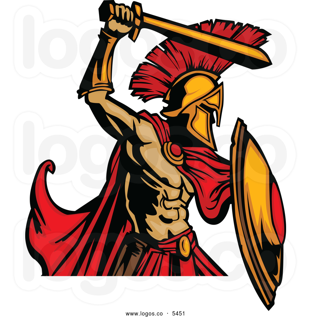 Roman Warriors clipart greek soldier Clipart Clipart Free Images Panda