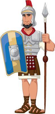 Roman Warriors clipart On Ancient Soldier Roman Pinterest