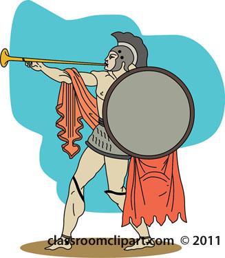 Rome clipart roman soldier #1
