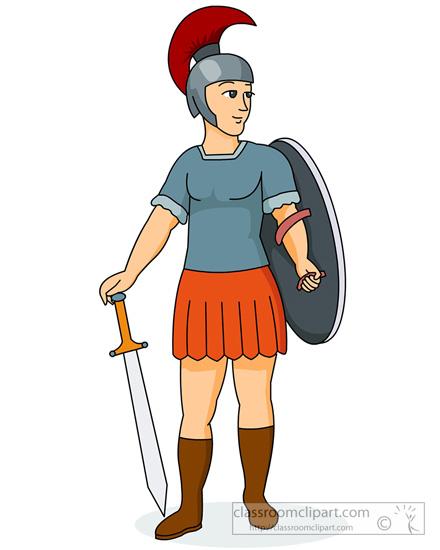 Rome clipart roman soldier #3