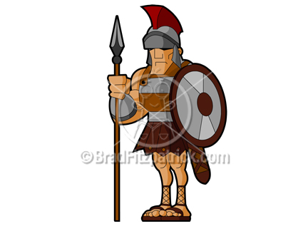 Axe clipart roman The the The Costuming used