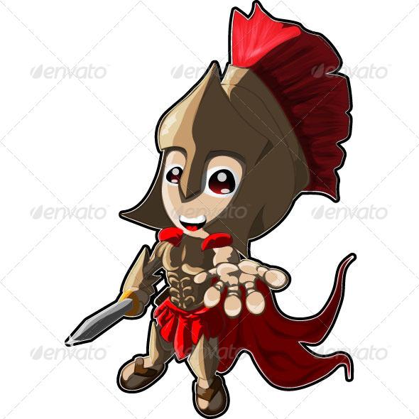 Roman Warriors clipart animated Spartan Warrior Cartoon Armors Spartan