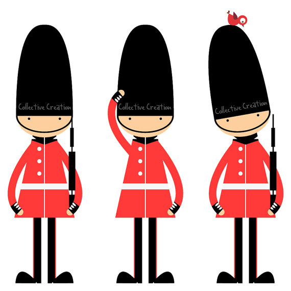Invasion clipart queen's guard Soldiers Pin similar Kids Items
