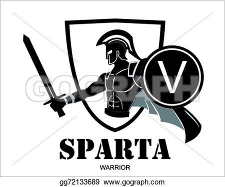 Roman Warriors clipart greek hero Warrior Vector Stock illustration Illustration