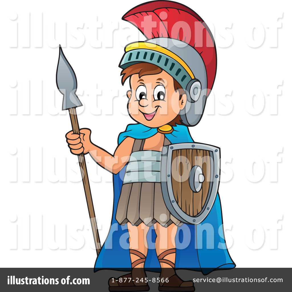 Soldiers clipart illustration Illustration #1347358 Clipart djart Roman
