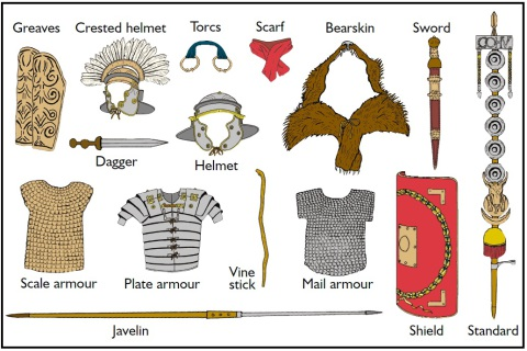 Roman Warriors clipart ks2 #6