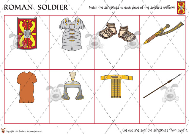 Roman Warriors clipart ks2 #5