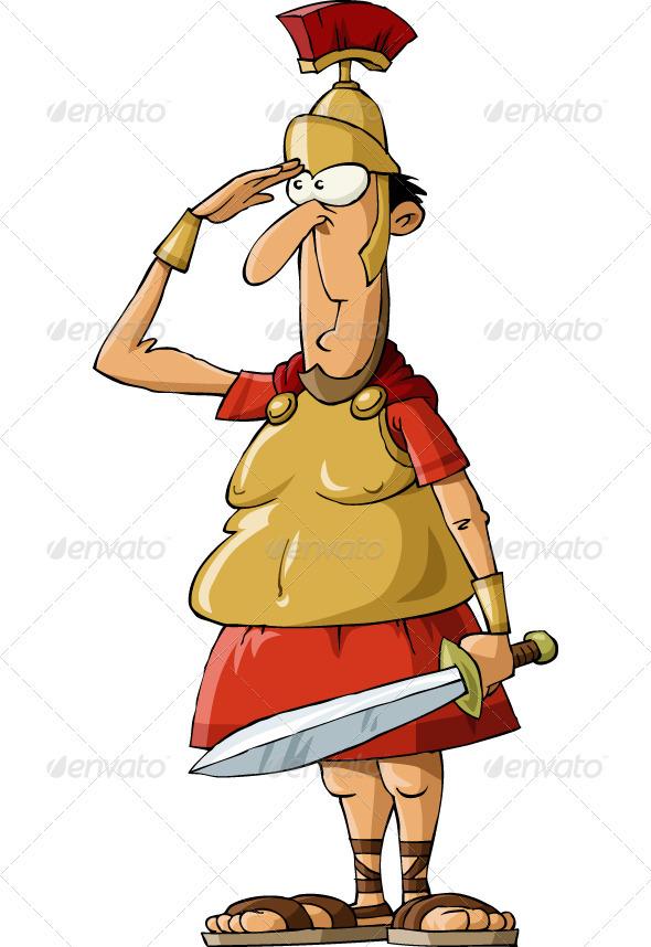 Roman Warriors clipart roman man Itmid de/article VECTOR ( ai