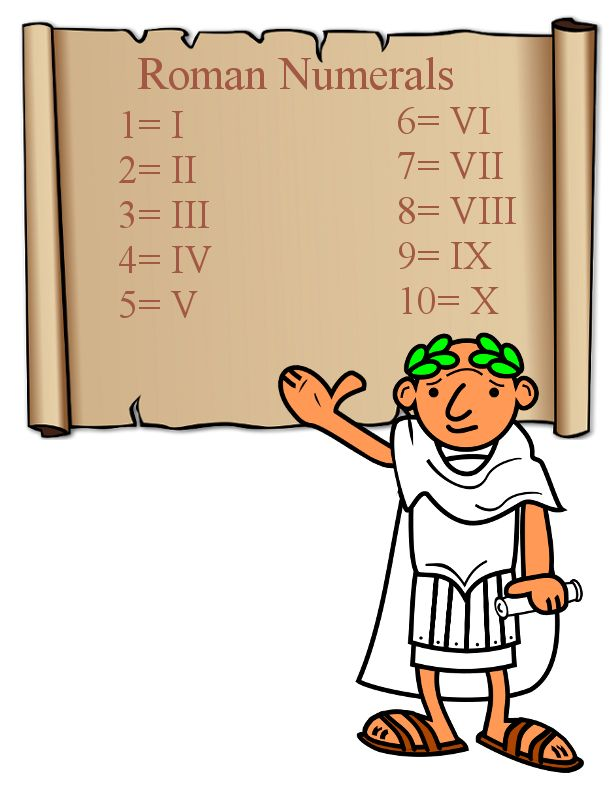 Cheesecake clipart roman On Poster Best numerals Clubhouse