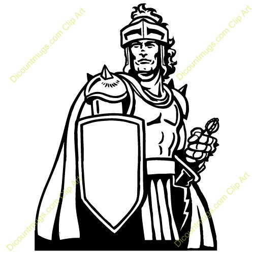 Rome clipart soilder Warrior  Christian Clipart