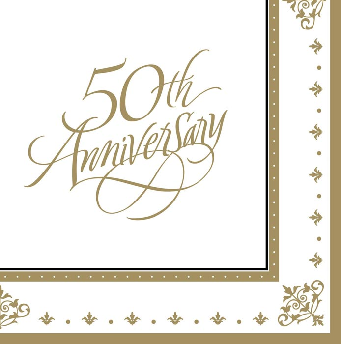 Romance clipart 50th wedding anniversary #15