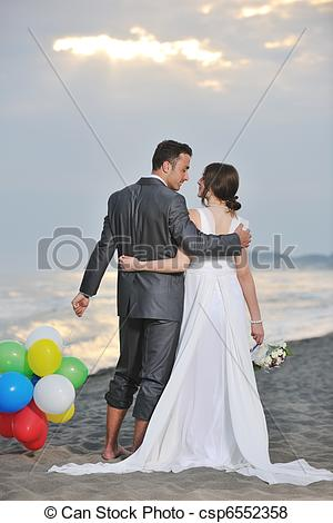 Romance clipart beach wedding #6