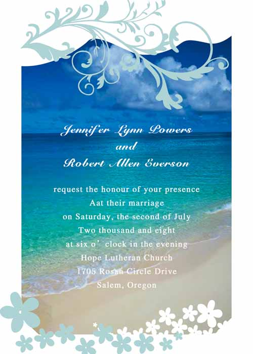 Romance clipart beach wedding #5