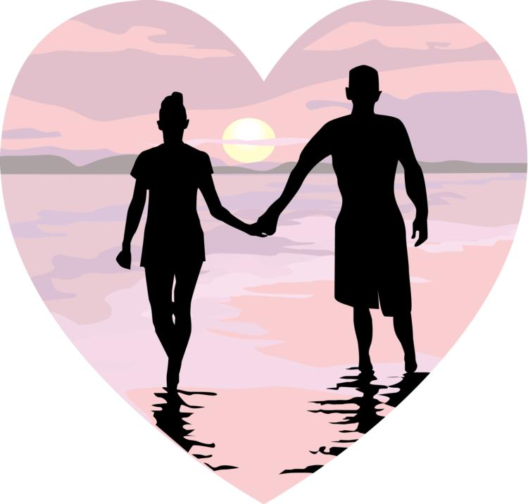 Romance clipart beach wedding #13