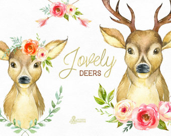 Romance clipart courtship Invite deers for clipart Hello