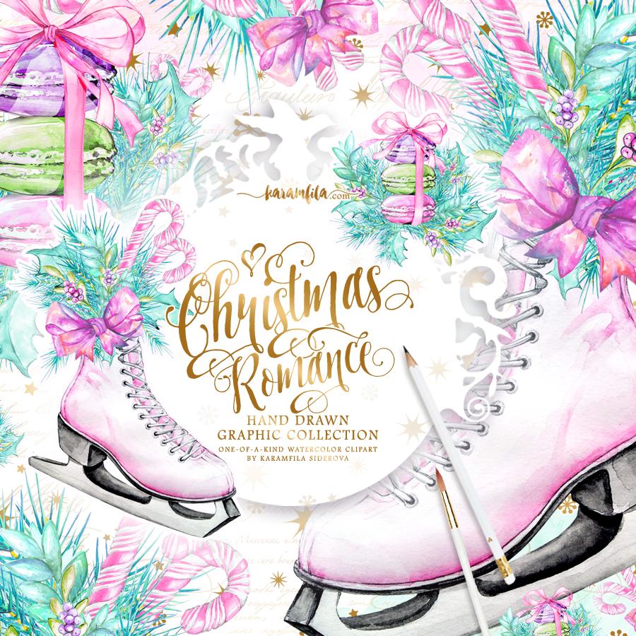 Romance clipart wedding celebration Clipart Christmas Christmas Romance ClipArt