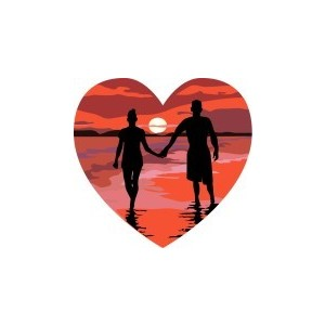 Romantic clipart honeymoon #2
