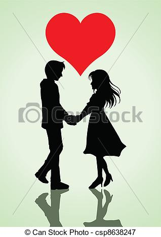 Romantic clipart lover #9