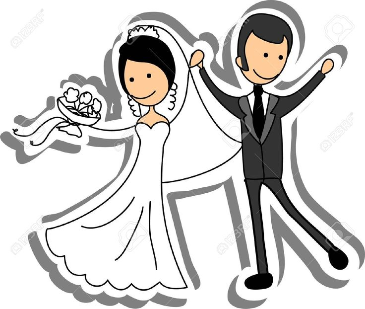 Bride clipart cartoon Royalty Picture Free Wedding images