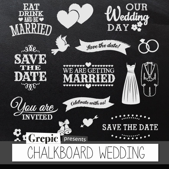 Wedding clipart our With date clipart Wedding Romantic